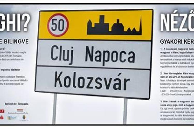 Activist de la Musai-Muszáj agresat la Cluj! Voia să pună mesaje despre plăcuțele bilingve în autobuze