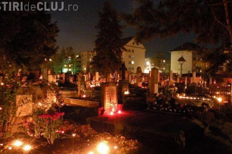 Cluj - Concert de operă de Luminație, în Cimitirul central