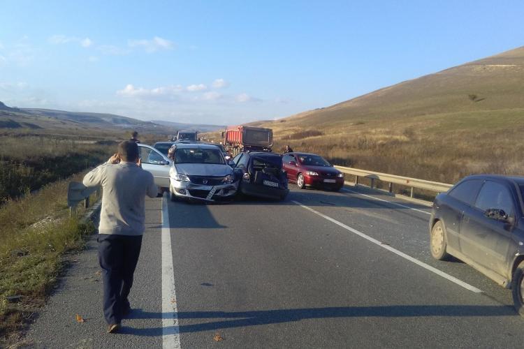 Accident pe centura Apahida - Vâlcele! Traficul a fost un COȘMAR