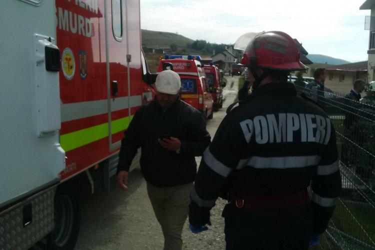 Incendiu la Azilul de bătrâni din Sălicea. Șase persoane au fost duse la spital