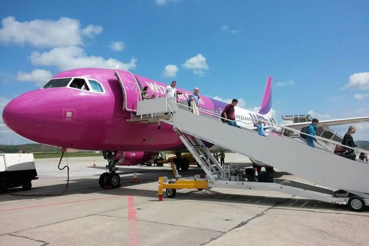 Wizz Air mută zborurile de la Târgu Mureș pe Aeroportul Cluj