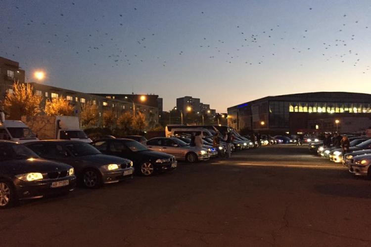 Secta BMW din Cluj s-a reunit la Sala Sporturilor – VIDEO