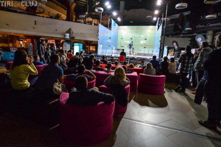 Cel mai mare turneu de squash din România se desfășoară la Iulius Mall Cluj în acest weekend
