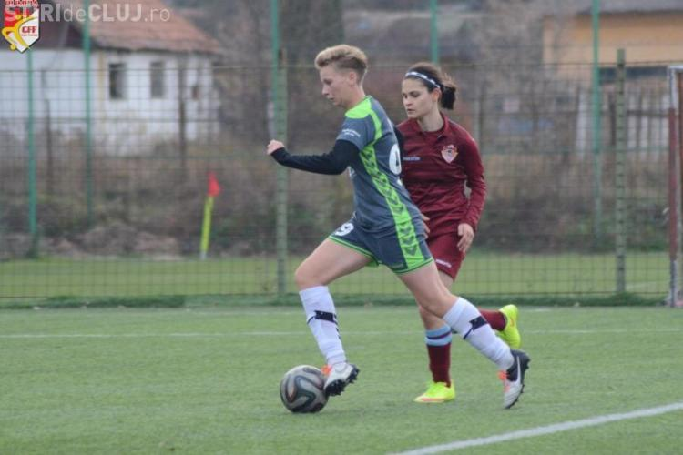 Olimpia Olimpia Cluj-Napoca revine pe locul 1 în Superliga de fotbal feminin