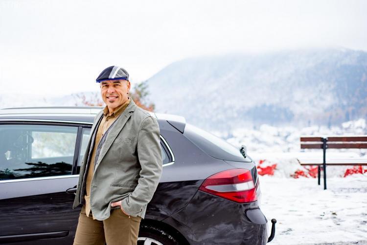 Uber ajunge la Brașov. Marius Vintilă, primul utilizator Uber în Brașov