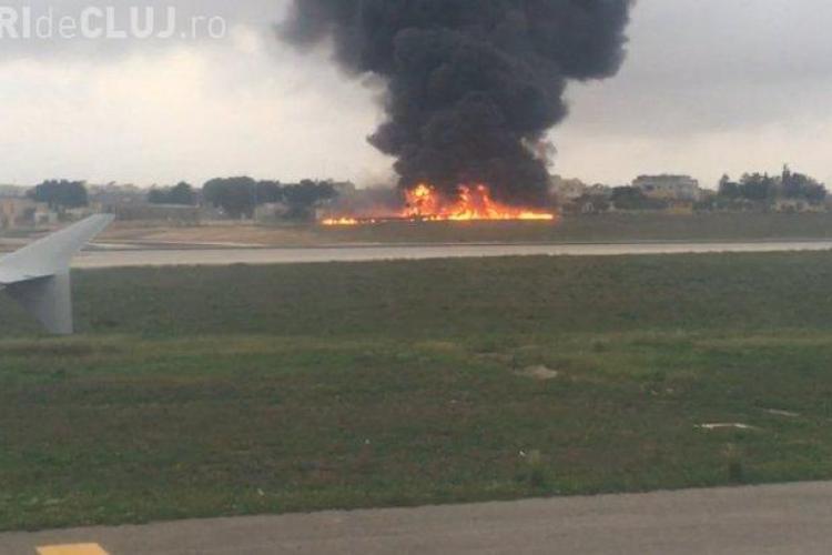 Un avion care transporta oficiali UE s-a prăbușit. Cel puțin cinci persoane au murit
