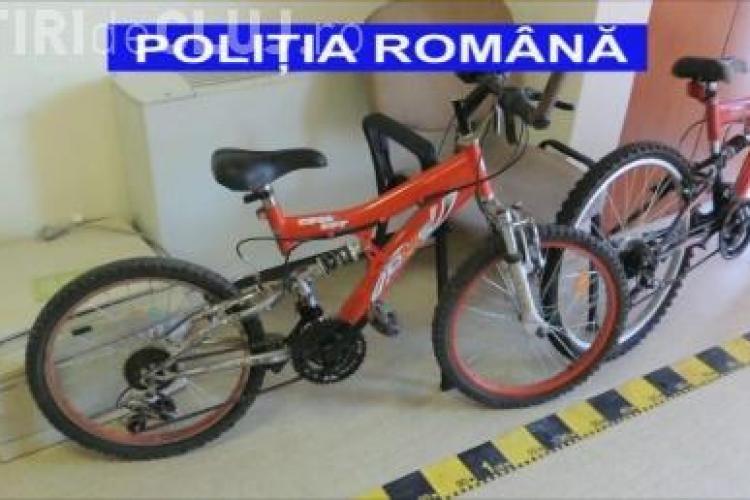 Biciclete furate, recuperate de polițiștii clujeni. Hoții, trei minori
