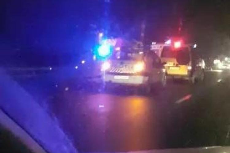 Accident mortal la ieșire din Feleacu! Un pieton a fost omorât pe loc - VIDEO