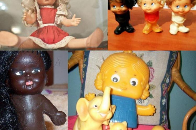 Ce jucării primeau copiii de Crăciun, pe vremea comunismului - FOTO