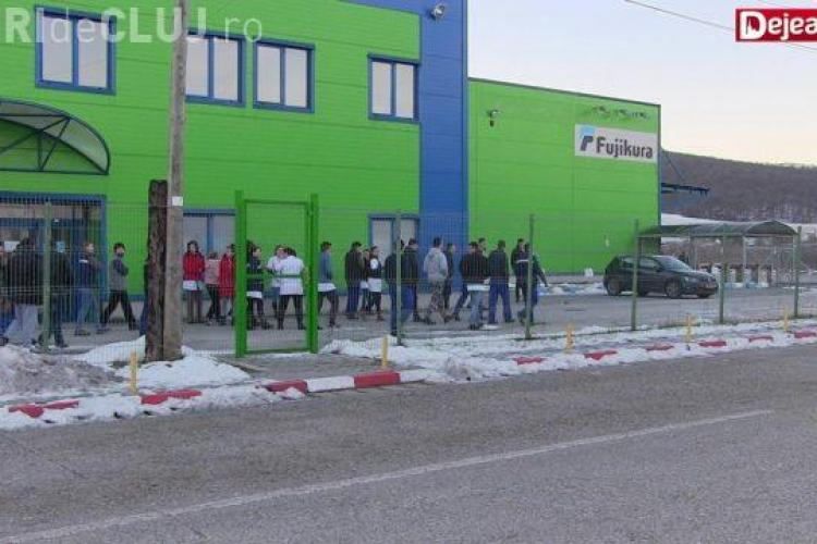 Muncitorii de la Fujikura au încheiat greva. Producția în fabrică a fost reluată
