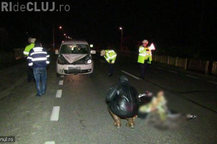 Accident MORTAL pe drumul Bistrița-Dej! Un bătrân și-a găsit sfârșitul - VIDEO