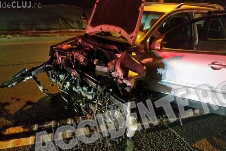 Nou accident pe varianta Zorilor - Mănăștur. Au fost patru accidente miercuri. Ce teorii au șoferii