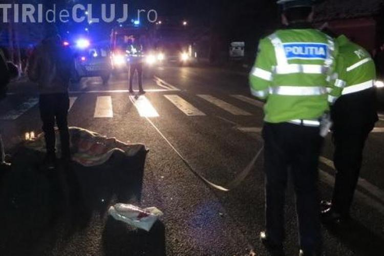 Accident MORTAL la Iclod. Două femei au fost spulberate pe trecerea de pietoni, după ce s-au spovedit