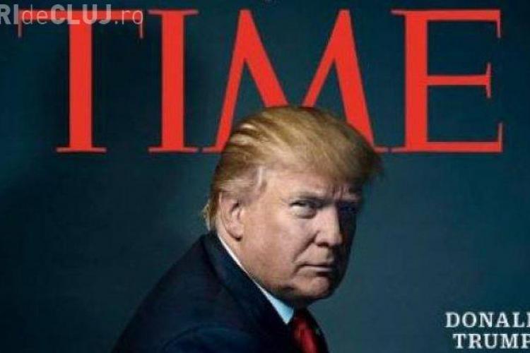 """Revista """"Time"""" l-a desemnat pe Donald Trump personalitatea anului 2016"""