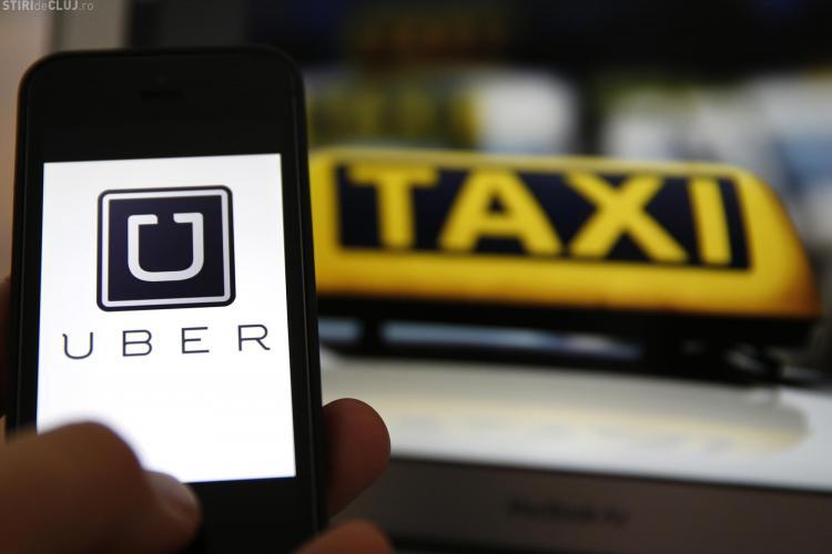 Scandal și la București între UBER și taximetriști