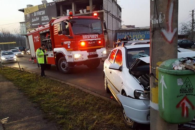 Strada Frunzișului, noul pol al accidentelor din Cluj-Napoca? Ce măsuri s-ar putea lua - FOTO