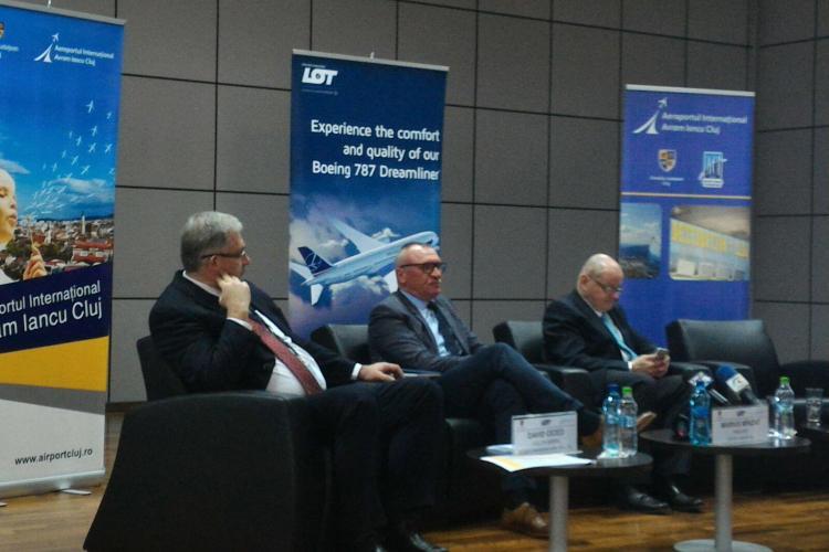 David Ciceo, despre transportul intermodal: De legătura aeroporturilor cu căile ferate beneficiază întreaga comunitate