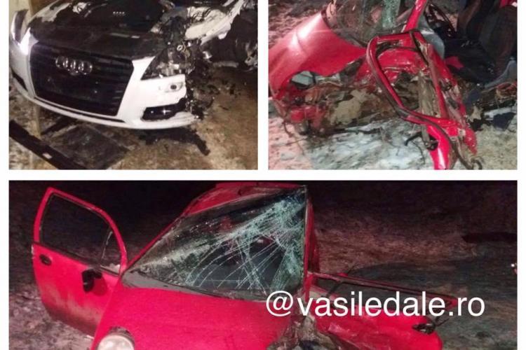 Un jucător al CFR Cluj implicat într-un accident cu patru victime. A lovit și o fetiță aflată pe marginea drumului FOTO