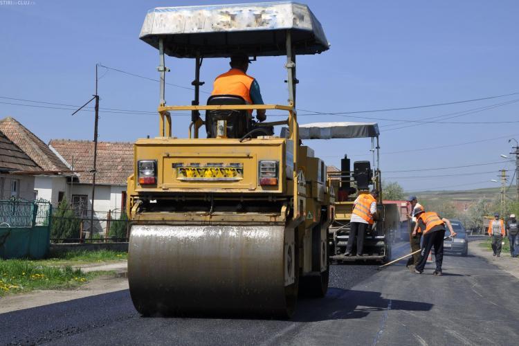 CJ Cluj a luat un credit de 50 de milioane de euro pentru a reabilita 500 km de drumuri județene