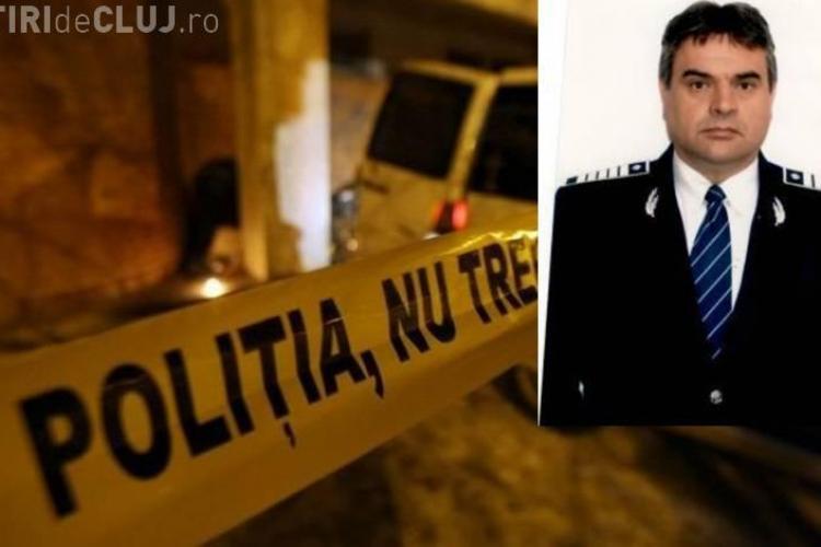 Cluj: Moment de reculegere pentru un polițist ucis în biroul său - VIDEO