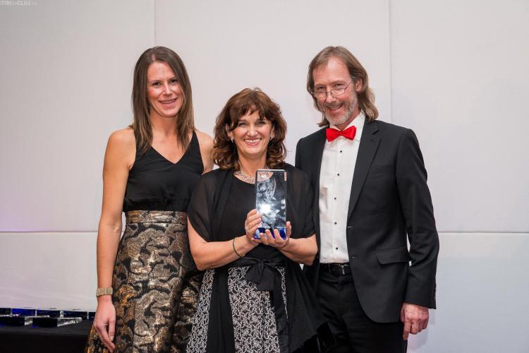 Fondatoarea școlii Transylvania College, din Cluj-Napoca, a primit un prestigios premiu la Londra
