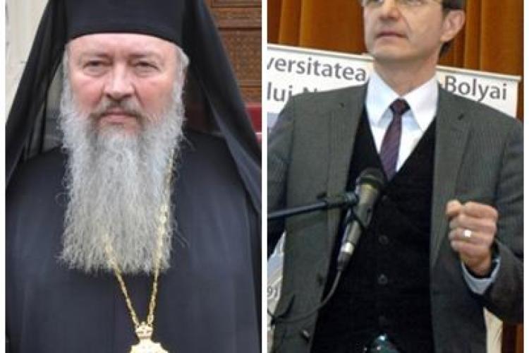 Mesaje trimise protestatarilor de rectorul UBB, Ioan Aurel Pop, și de mitropolitul Clujului, Andrei Andreicuț
