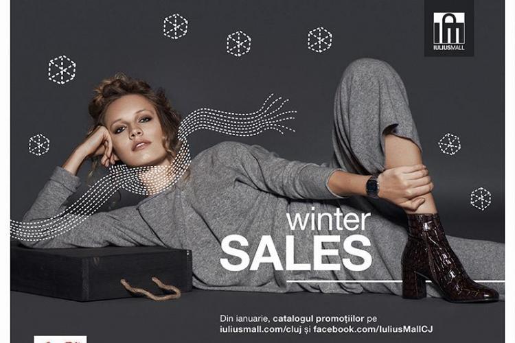 Promoții de până la 70%, la început de an, în magazinele din Iulius Mall Cluj (P)