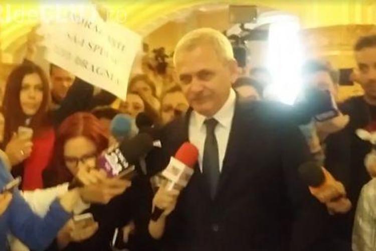 """VIDEO: Liviu Dragnea, la Parlament: """"Fac și pe mă-ta!"""" / Update: Eu nu am înjurat"""