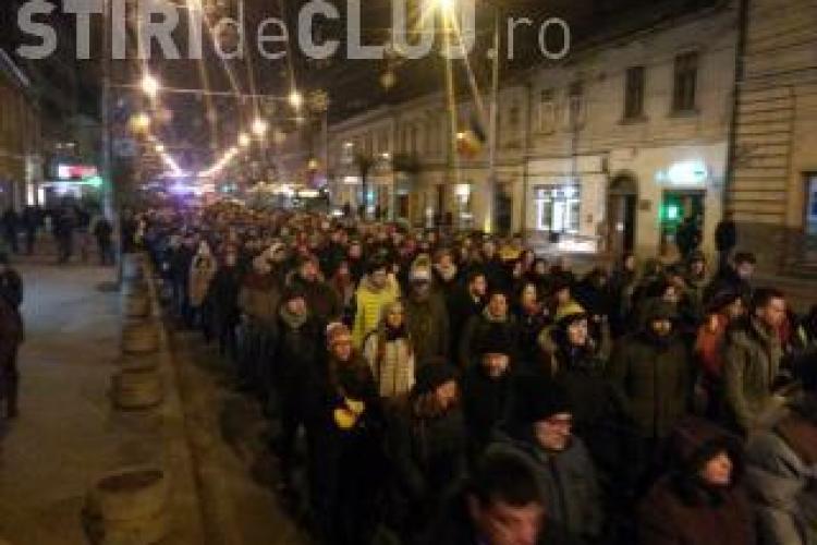 Un nou val de proteste împotriva corupției. Clujenii ies din nou în stradă