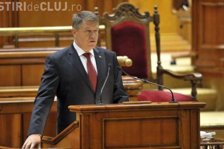 Iohannis, discurs DUR în Parlament. Cere schimbarea Guvernului! Ce ultimatum a dat PSD