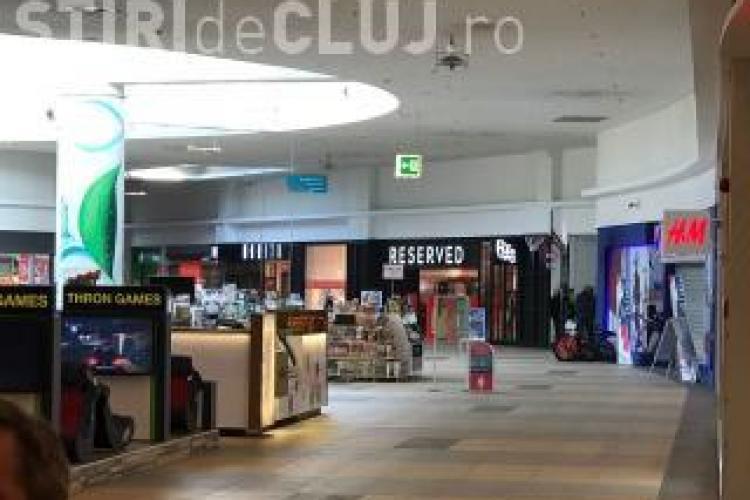 Cine a dat alarma cu bombă la Polus Cluj. A sunat la poliție și a spus că a pus o bombă în mall