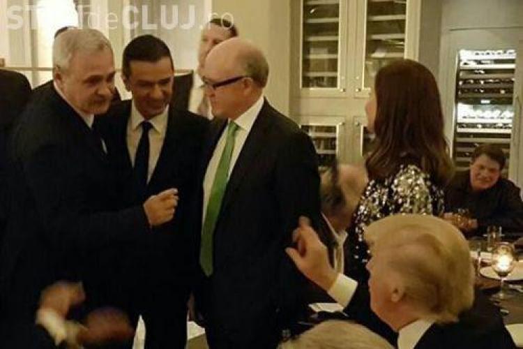 Dragnea îi cheamă în judecată pe cei care l-au acuzat că a plătit 1 milion de dolari pentru a se poza cu Trump