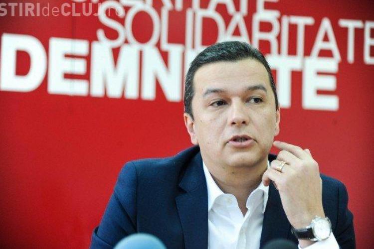 Premierul Sorin Grindeanu: Din nefericire, un protest paşnic s-a transformat într-unul violent