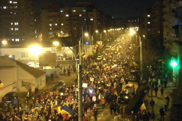 Protest la Cluj la ora 19.00. Unde se adună mulțimea