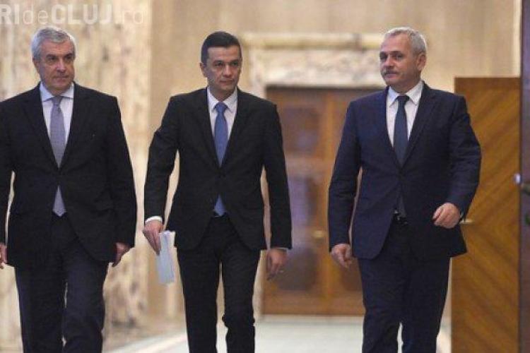 PSD discuta abrogarea OUG 13. Dragnea, Tăriceanu şi Grindeanu discuta despre abrogare