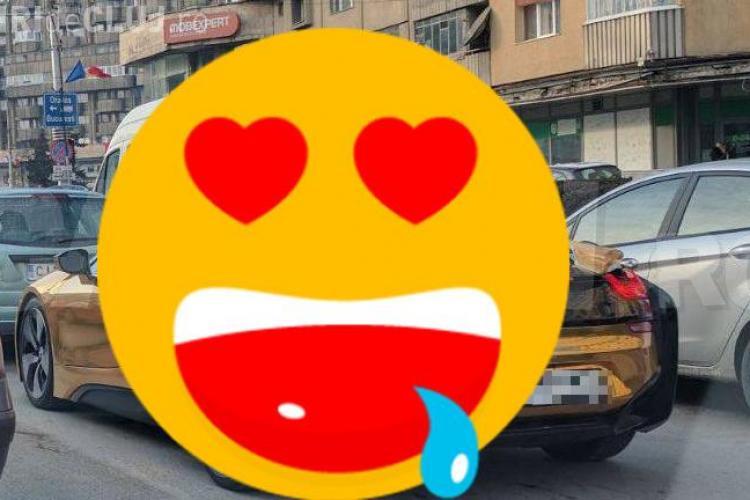 Bolidul care a făcut senzaţie pe străzile din Cluj! Cât costă acest bolid electric hibrid