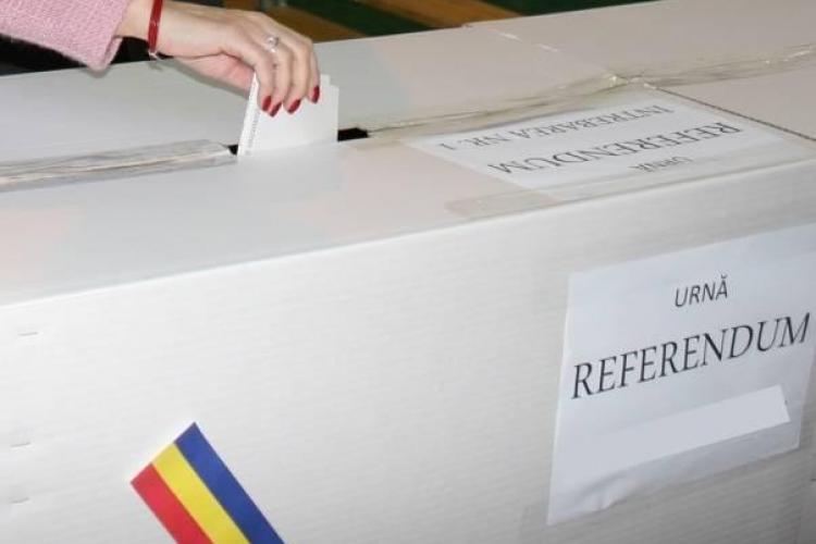 Parlamentul a aprobat cu unanimitate referendumul lui Iohannis