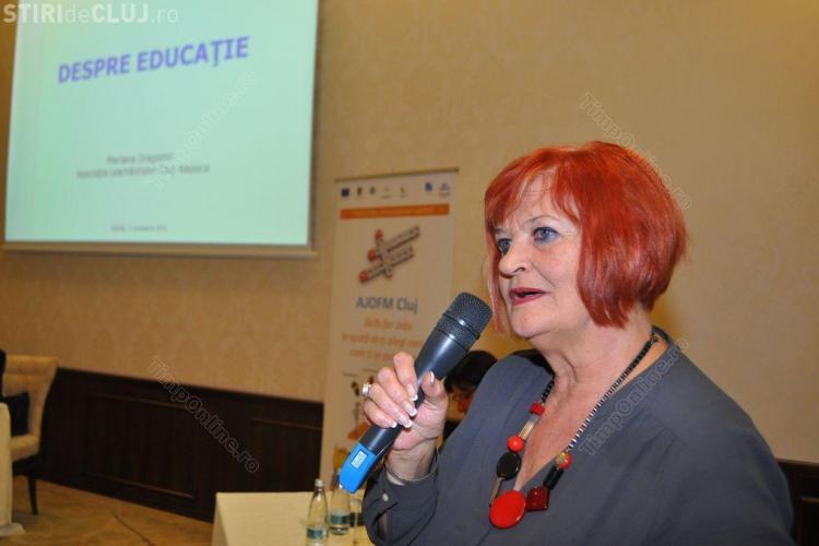A murit Mariana Dragomir, fosta șefă a ISJ Cluj și directoare a Liceului Mihai Eminescu
