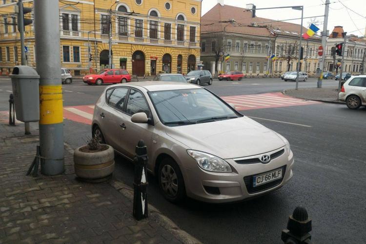 Cluj: Amenzile nu mai sunt de ajuns! Trebuie suspendat permisul pentru așa ceva - VIDEO