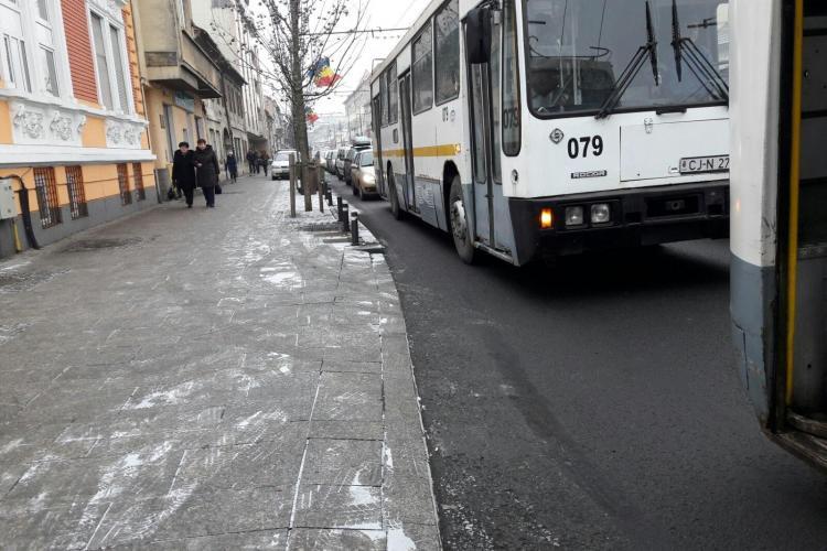 Trafic blocat, miercuri dimineața, din Mănăștur până în centru/ UPDATE: Problema e de la Oncologie - FOTO
