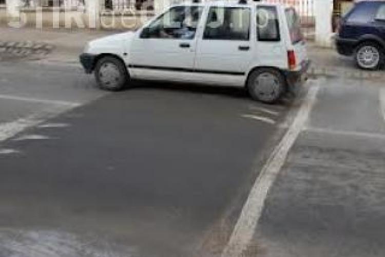 Apar praguri de sol pe două străzi din Cluj-Napoca