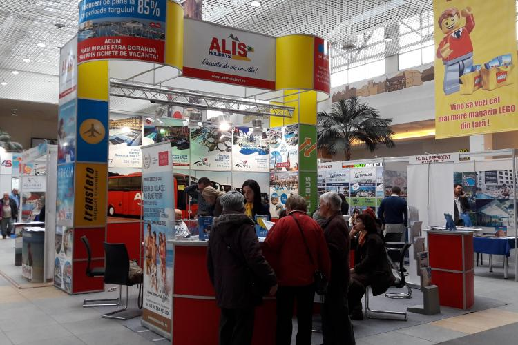 Alis Holidays vine cu noutăți și oferte speciale la Târgul de Turism din VIVO mall Cluj. Poți găsi sejururi reduse cu până la 85%