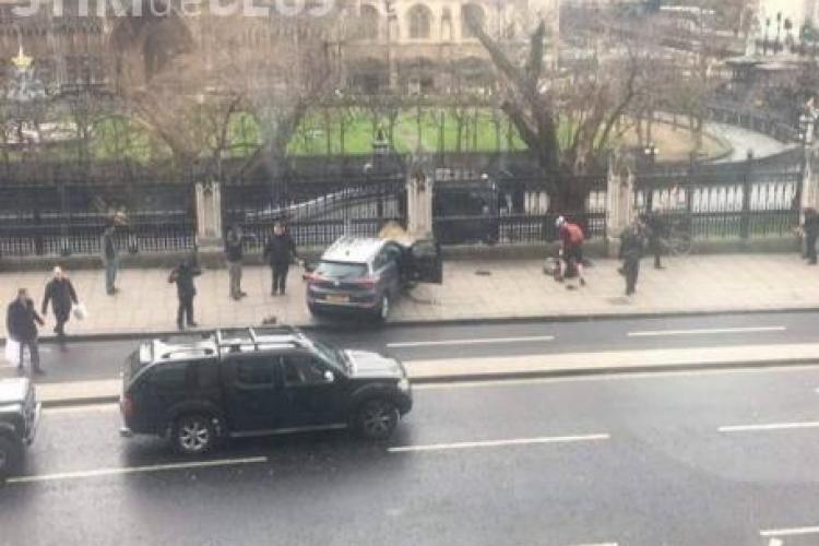 Doi români răniți în atacul terorist de la Parlamentul britanic