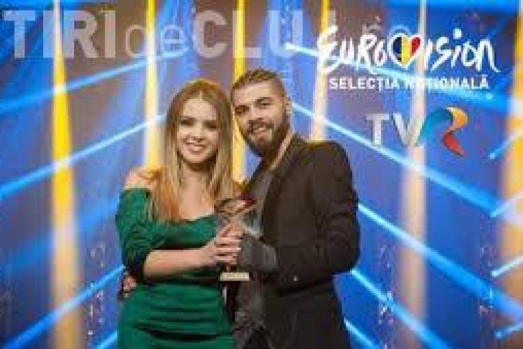 Clujeanca Ilinca Băcilă pleacă în turneu alături de Alex Florea pentru a promova piesa cu care ne vor reprezenta la Eurovision