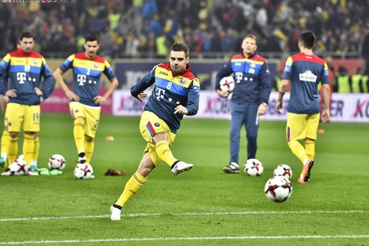 Daum a anunțat lotul României pentru meciul cu Danemarca, de pe Cluj Arena VIDEO