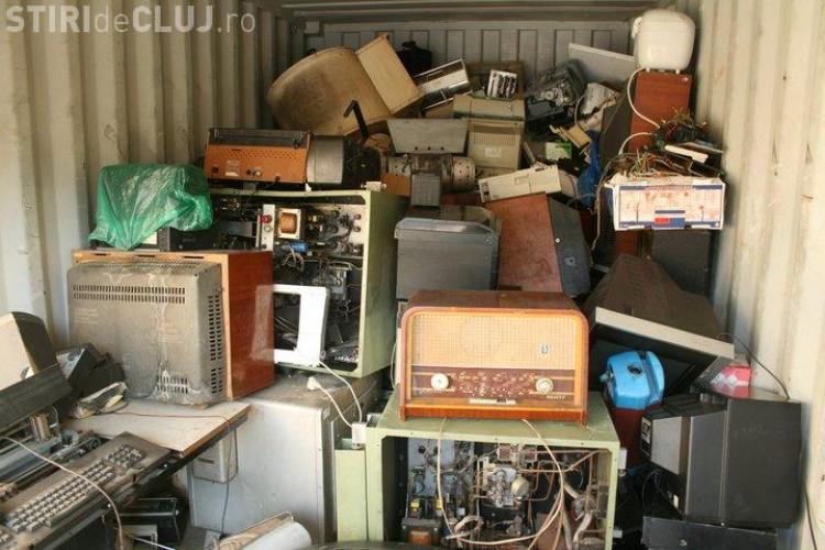 Rosal Cluj colectează electronicele uzate. Unde pot fi duse deșeurile electronice