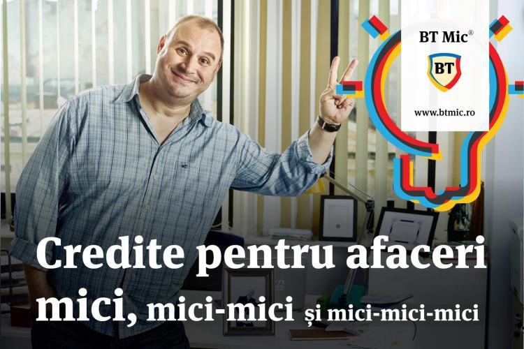 Grupul Financiar Banca Transilvania lansează BT Mic. Vor fi finanțate afacerile mici
