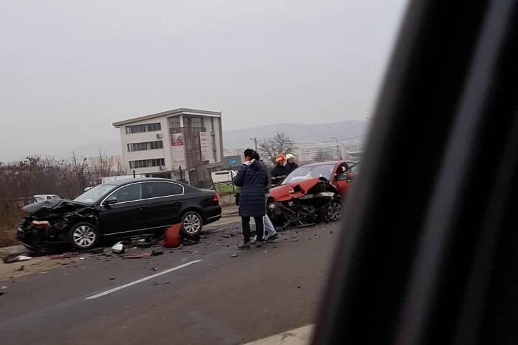 Accident grav pe Varianta Zorilor - Mănăștur. Cel mai periculos drum din oraș e IGNORAT de autorități - FOTO