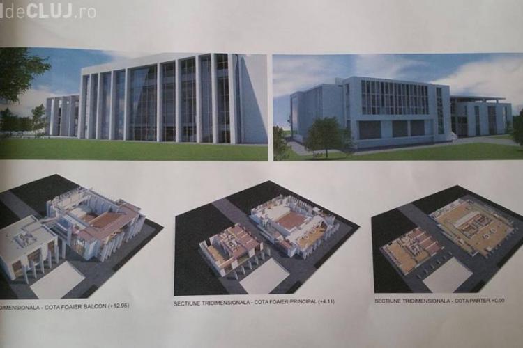 Floreștiul vrea să construiască o sală de spectacole de 800 de locuri și o Polivalentă cu 1000 de locuri