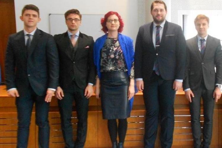 O echipă a Facultății de Drept Cluj la reprezentat România la o competiție europeană